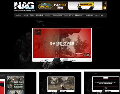 DIGITAL BANNER - War is not a game