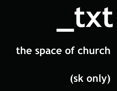 THE SPACE OF CHURCH