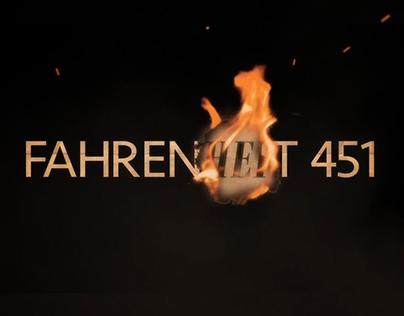 Fahrenheit 451 Title sequence