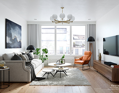 Apartment/Living CGIs -Philadelphia,PA