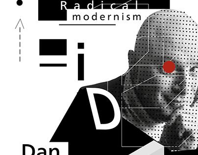 """Posters """"Radical Modernism / Dan Friedman"""""""