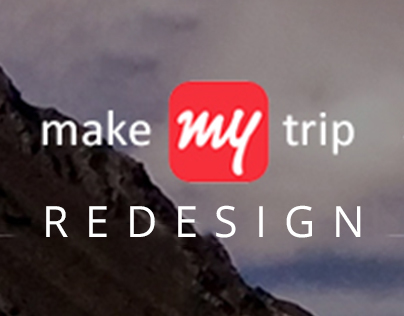 Make My Trip Website REDESIGN