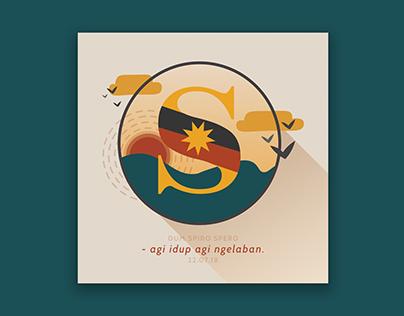 Sarawak Day Graphic