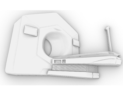 3D Relief of a CT Scan Machine (for wood carving)