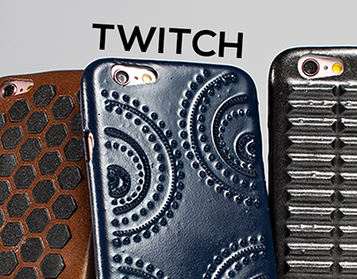 Twitch | A line of discreet fidget phone cases