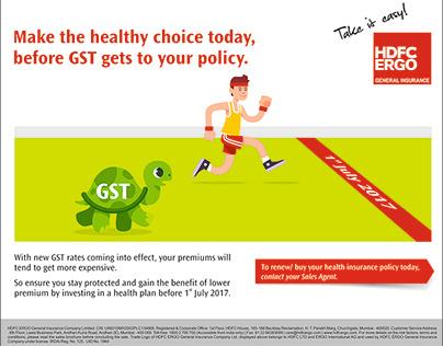 GST - Health Mailer