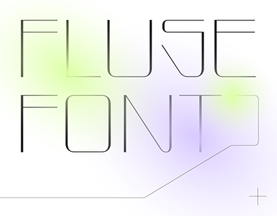 FLUSE—Free font