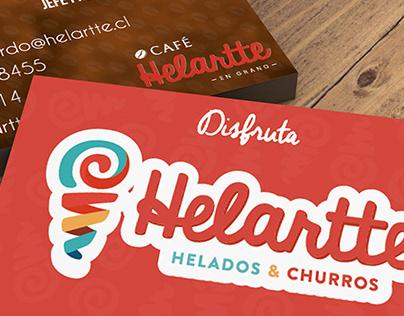 Tarjeta de presentacion HELARTTE