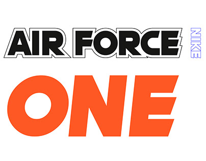 Concept design - Nike Air Force ONE