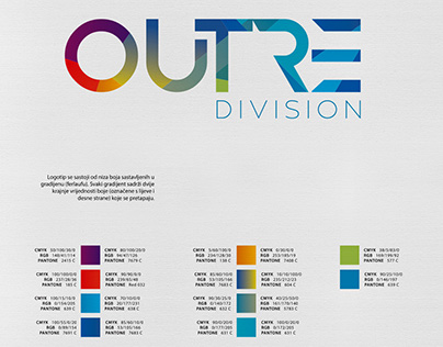 OUTRE Division - Branding