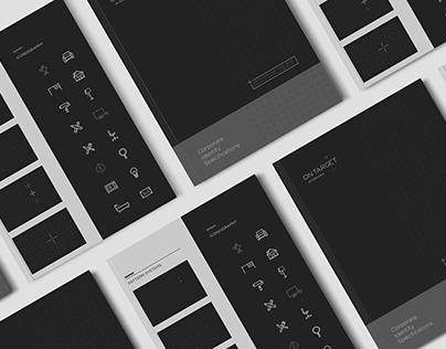 Ontarget Interiors Corporate Folder on Behance