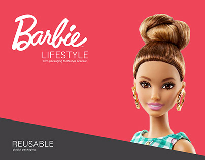 BARBIE // REUSABLE PACK