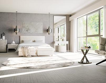 Bedroom in Corona 4D
