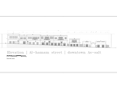 Al-hamam street elevation
