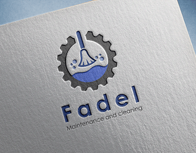 Branding logo for FADEL Maintenance and cleanliness