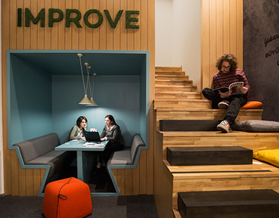 Workinton Offices  Astoria by PAD