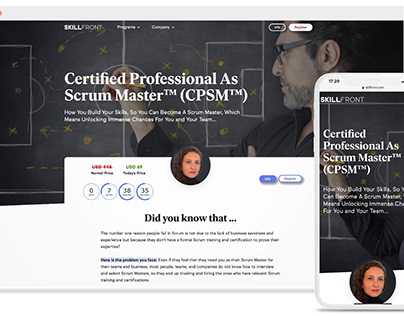 Certified Professional As Scrum Master™ (CPSM™)