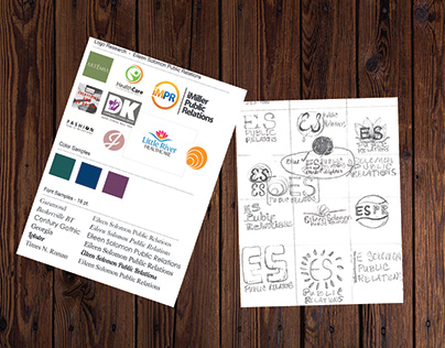 Logo Development - Research and Sketches