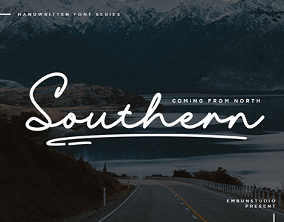 SOUTHERN - FREE HANDWRITING TYPEFACE FONT