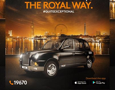London Cab-Social media
