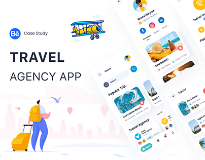 Travel UX & UI Case Study