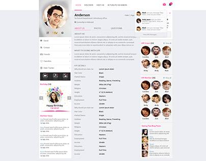 MS dating website Def Leppard maken liefde als een man single
