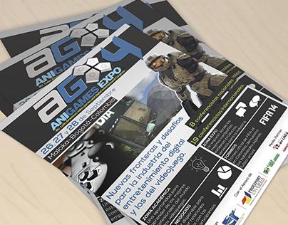Poster Anigames Expo 2013 (Concurso)