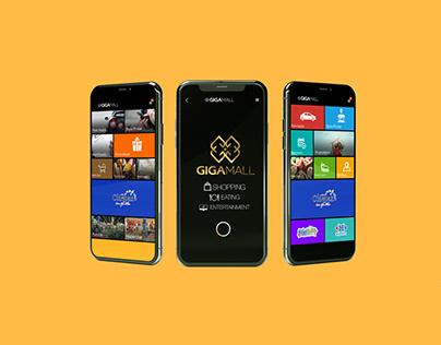 GigaMall App Design
