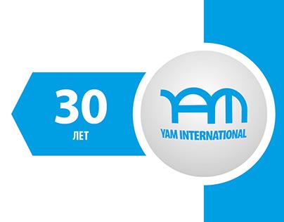 YAM 30 ЛЕТ | logo 2019