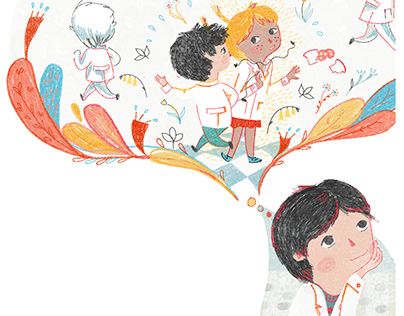 Ilustraciones en Libro Escolar ● Illustrations