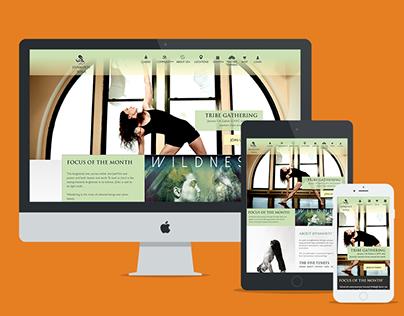 Jivamukti Yoga - Responsive Website