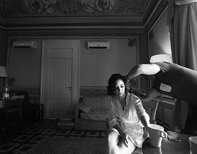 Black and White Weddings - Anna Scialfa Photographer