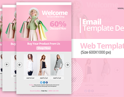Email Layout Template Design