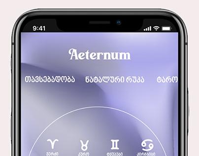 AETERNUM APP
