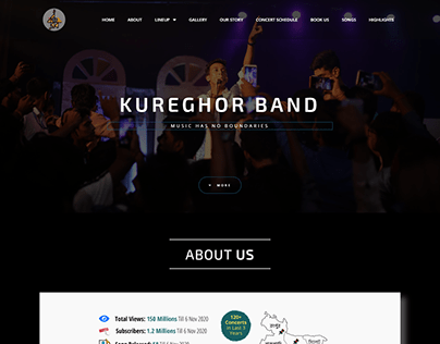 Kureghor Band Website