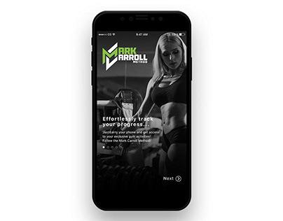 Mark Carroll App Design