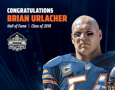 Brian Urlacher - Hall of Fame