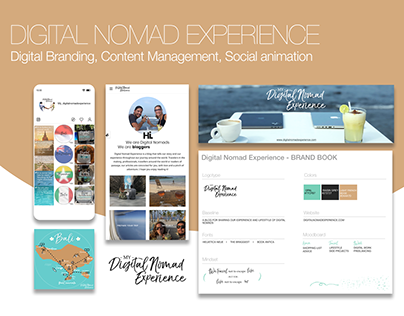 Brand book - Digital Nomad Experience