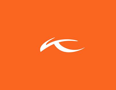 Kjus Logo and Visual Identity