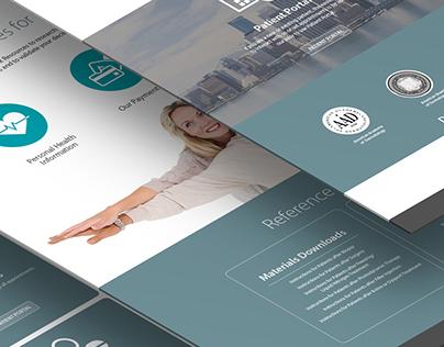 Dermotologist Website Design