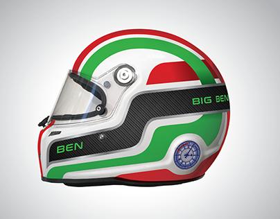 Big Ben Racing Helmet