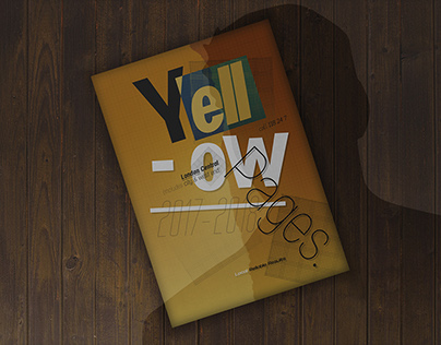 Yellow Pages Book Redesign |Neue Miller Tribute