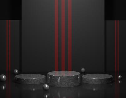 Podium Display Stage Design