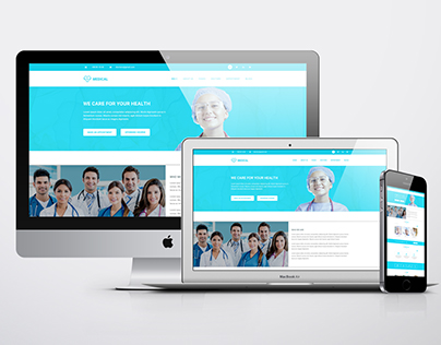 Medical Web Site Template