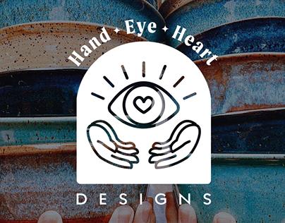 HandEyeHeartDesigns - Brand Identity