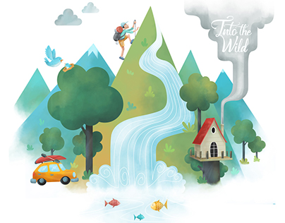 Into the Wild - Poster Illustration