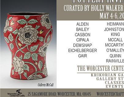 Pottery Invitational Magazine ad