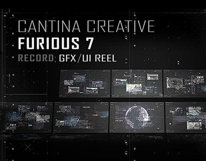 FURIOUS 7 - GFX/UI DESIGN