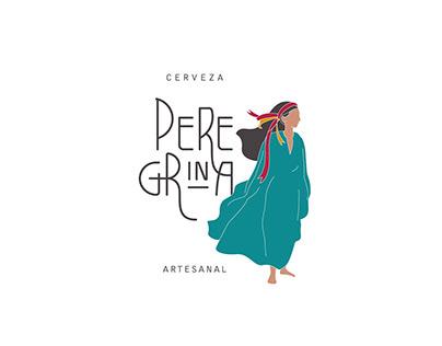 Peregrina Cervecería Social / Identidad visual