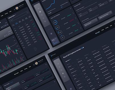 Cryptocurrency Web App | SaaS
